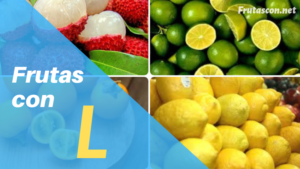 Frutas con la letra L lista de frutas