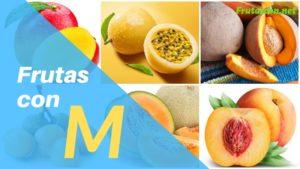 Frutas que empiezan con M lista de frutas con la m