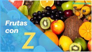 Frutas que empiezan con Z lista de frutas con la z