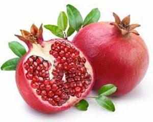 Granada   frutas con g