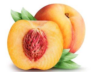 Melocotón fruta | Frutas con m